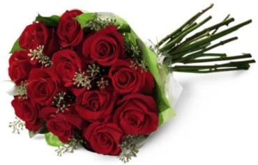 Red Rose Hand-Tied