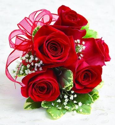Rose Corsage, Red