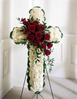 Floral Cross Easel™ - Diamond