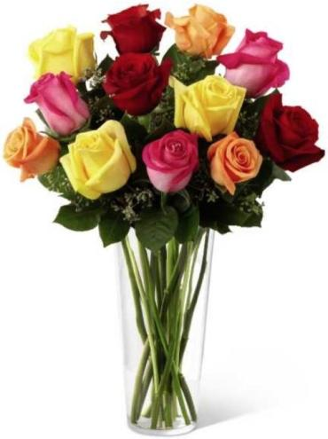 Premium Multi Color Roses