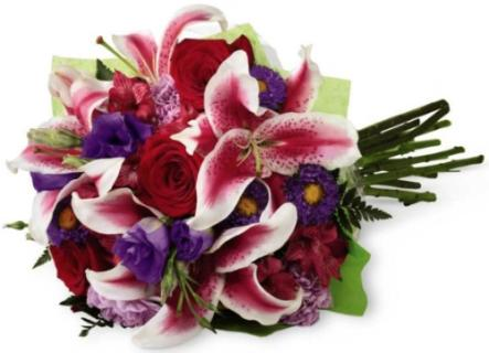 Stunning Beauty™ Hand-Tied